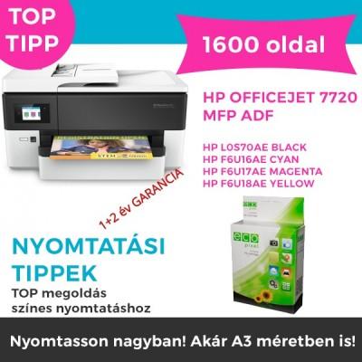 HP OFFICEJET 7720 MFP ADF nyomtató csomag