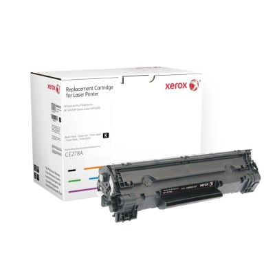 HP CE278A Fekete XEROX 100% ÚJ (utángyártott)