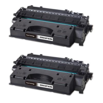 HP CE505A/CF280A 2db-os Tonercsomag CW (utángyártott)