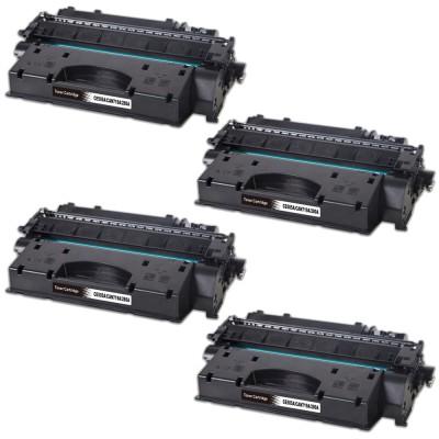 HP CE505A/CF280A 4db-os Tonercsomag CW (utángyártott)